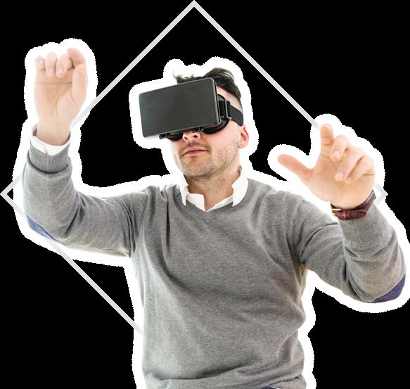 バーチャルリアリティー技術(VR)