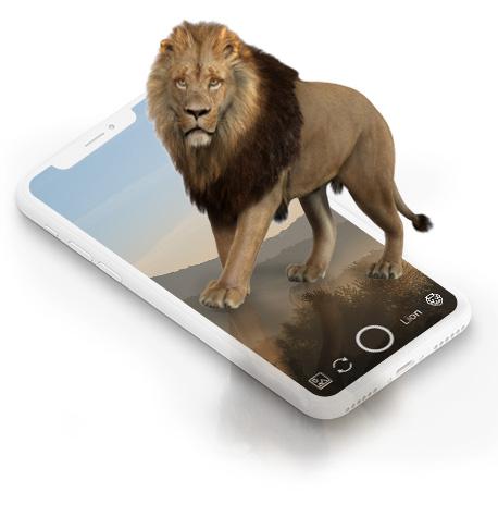 Mobile AR Sách Vườn thú 3D