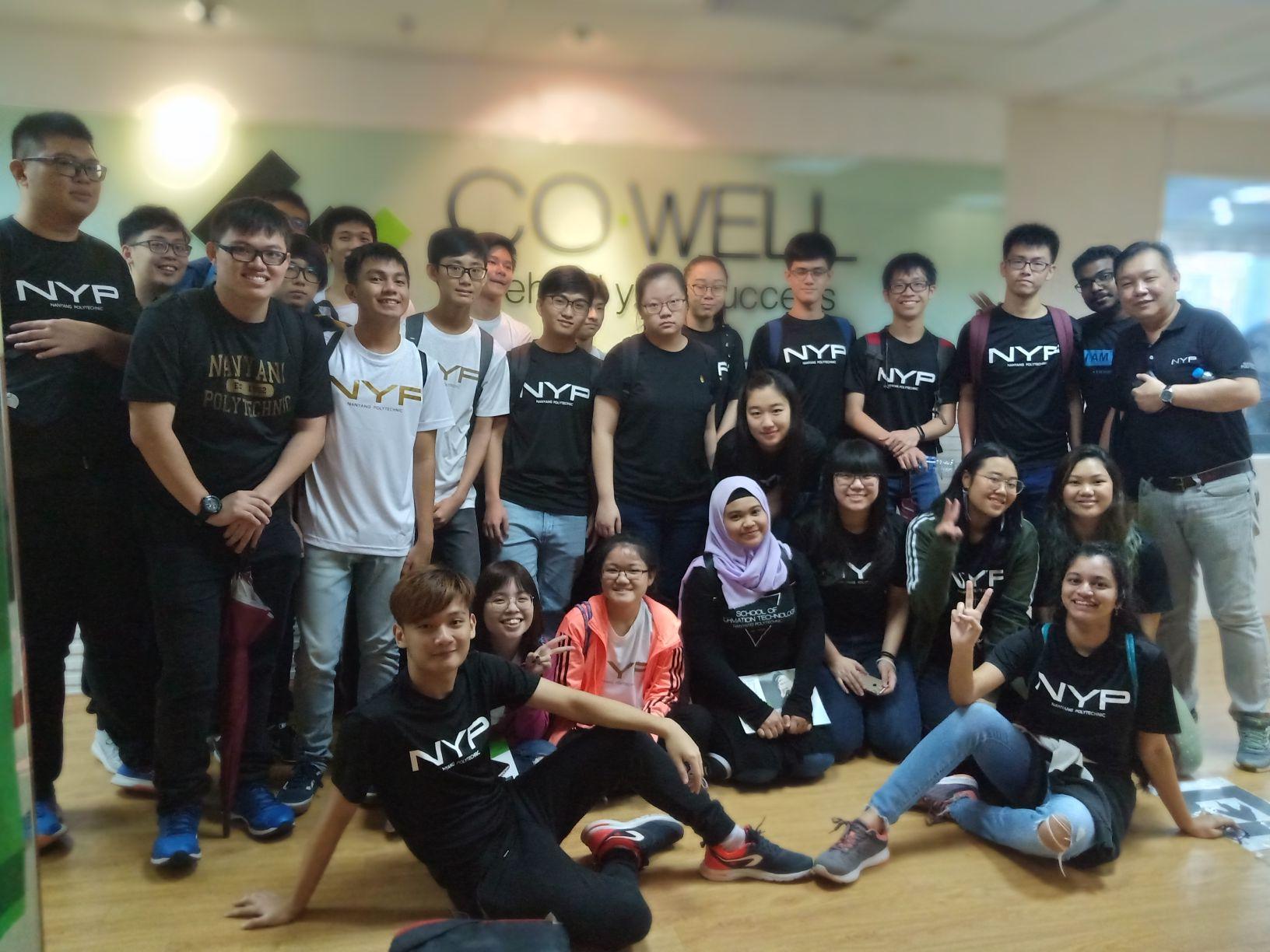 CO-WELL Asia chào đón đoàn sinh viên trường NANYANG POLYTECHNIC (SINGAPORE)