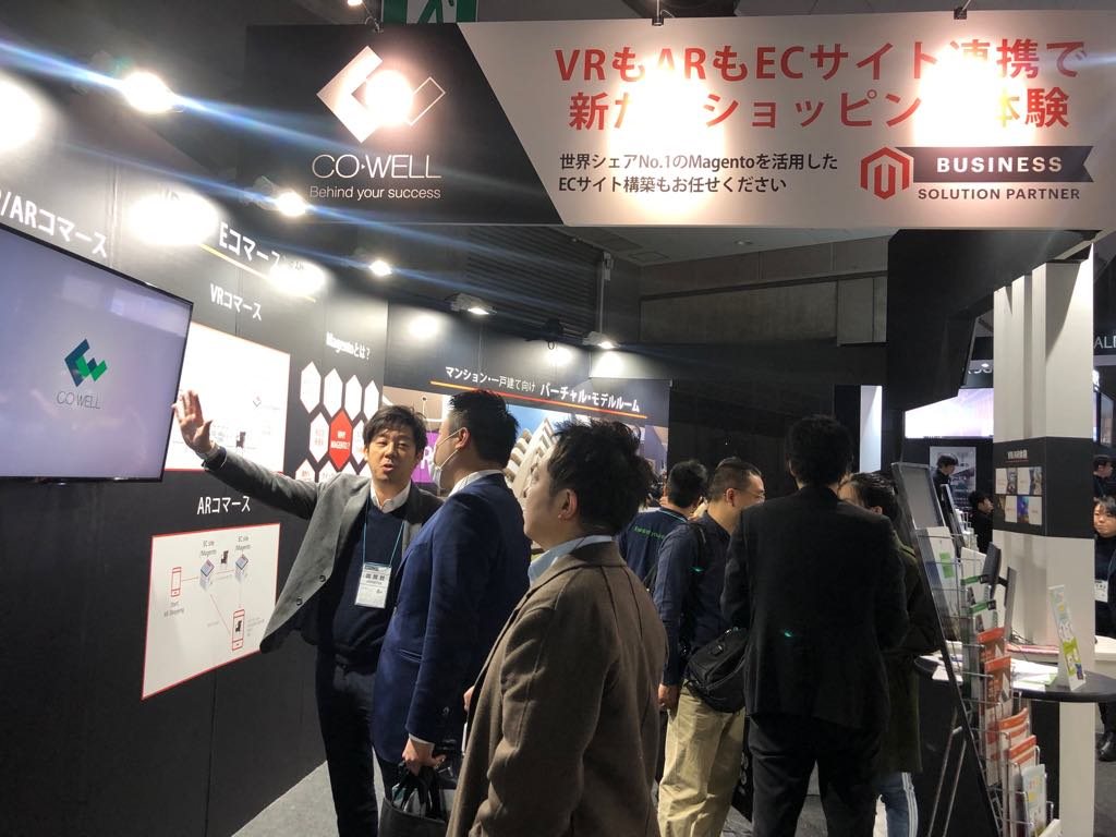CO-WELL THRIVED AT CONTENT TOKYO EXHIBITION 2019