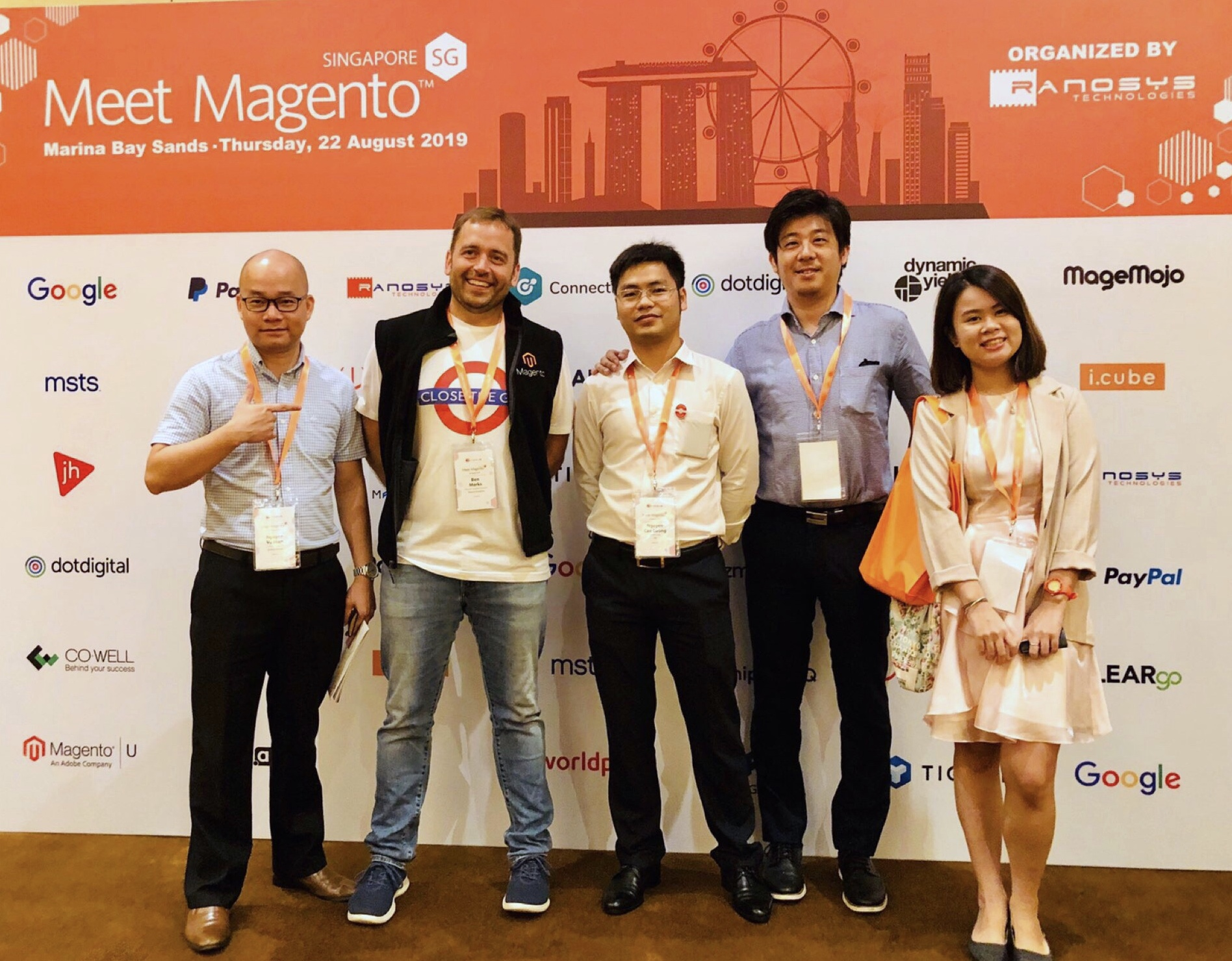 CO-WELL ASIA AT  MEET MAGENTO SINGAPORE 2019