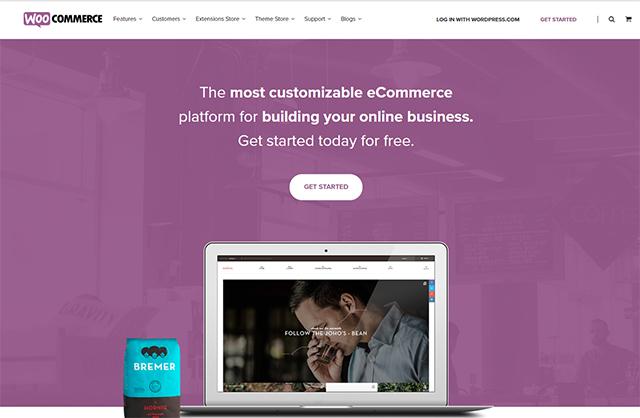 woocommerce website builder