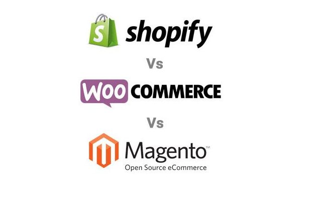 Shopify vs Woocommerce vs Magento 2