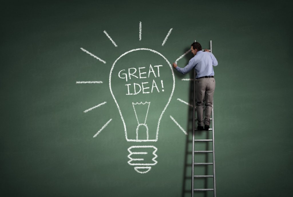 Identify your idea is the very first step in app development