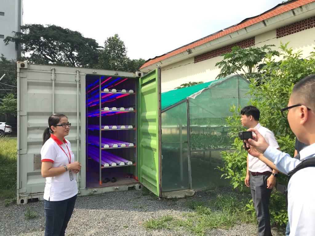 Thăm quan Công viên Phần mềm Quang Trung