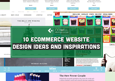 10 E-COMMERCE WEBSITE DESIGN IDEAS AND INSPIRATION