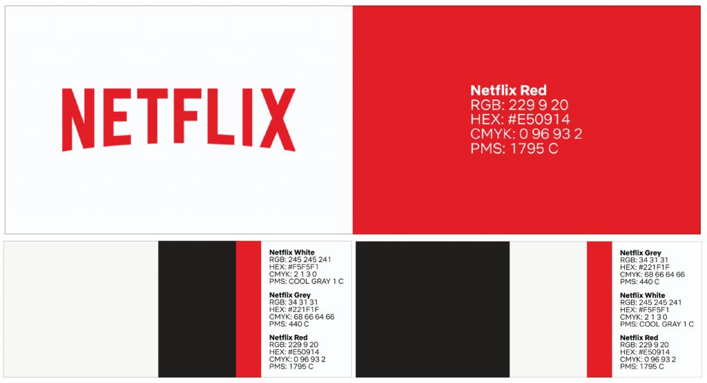netflix brand style