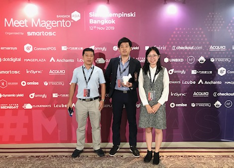 CO-WELL ASIA met E-commerce builders and innovators across Asia at Meet Magento Asia 2019