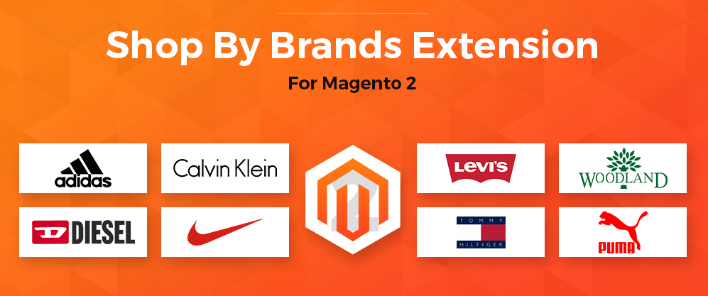 magento 2 by brand