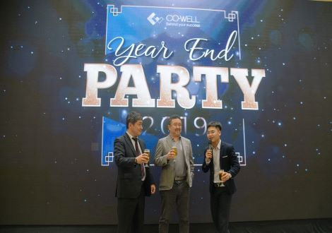CO-WELL Asia's YEAR END PARTY 2019: Cheers to the new year