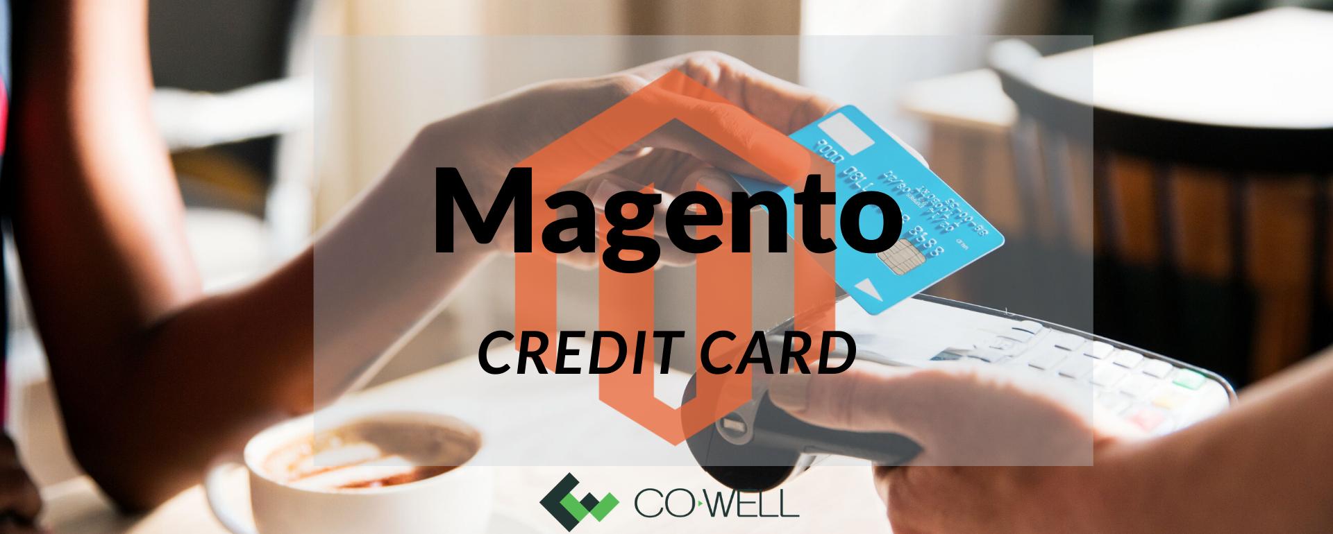 Magento credit card