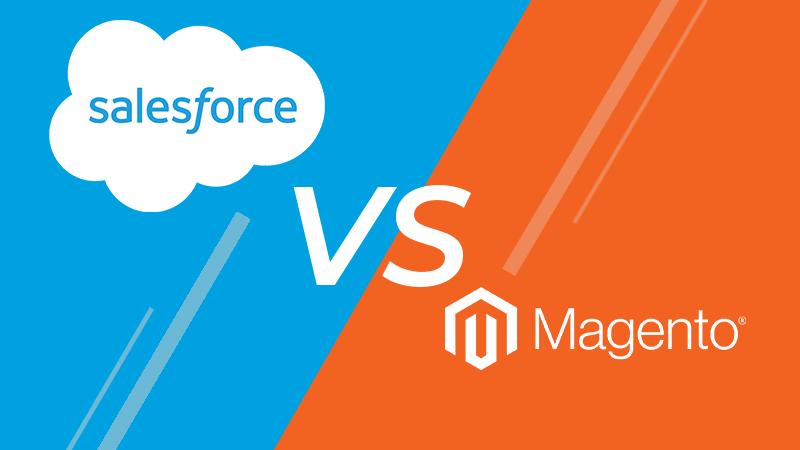 Magento Cloud vs. Salesforce cloud