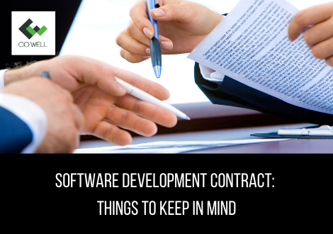 SOFTWARE DEVELOPMENT CONTRACT: THINGS TO KEEP IN MIND