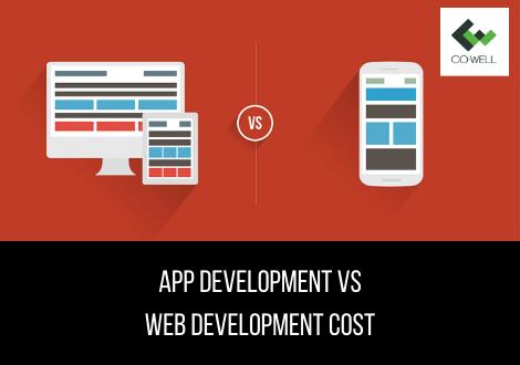 APP DEVELOPMENT VS WEB DEVELOPMENT COST