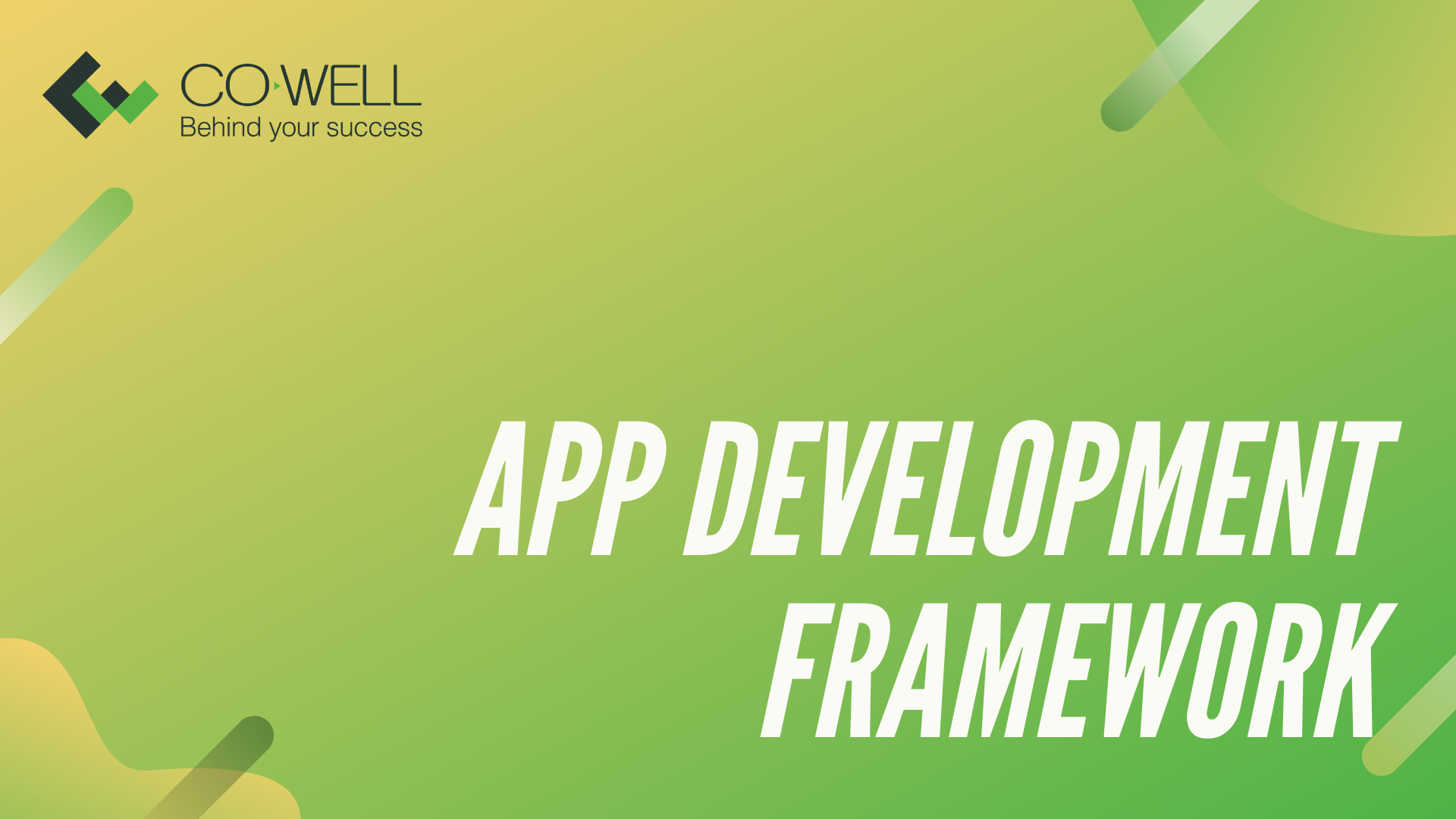THE APP DEVELOPMENT FRAMEWORK OF MAGENTO