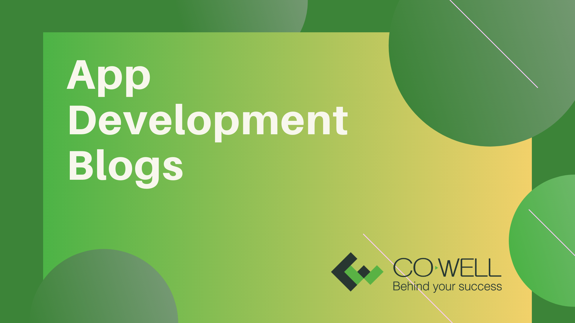HELPFUL APP DEVELOPMENT BLOGS IN DEVELOPING