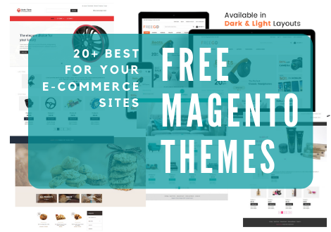FREE MAGENTO THEMES: 20+ BEST ONES