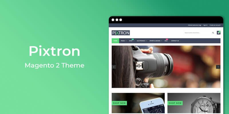 Free Magento themes for Electronic stores