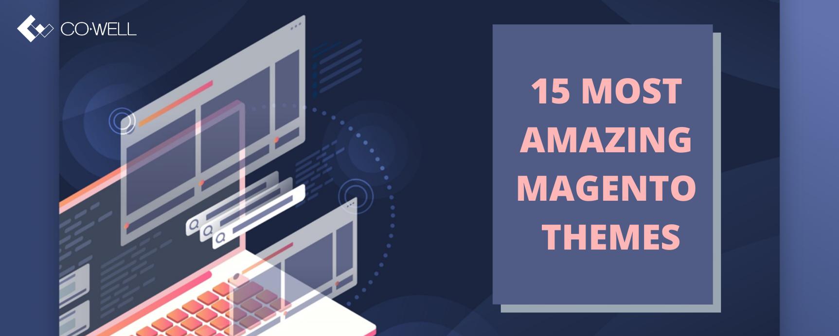 15 most amazing Magento themes