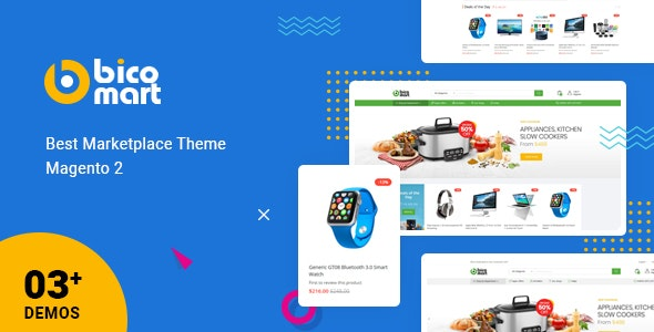 Magento theme sugessted by CO-WELL Asia