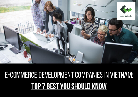 E-COMMERCE DEVELOPMENT COMPANIES IN VIETNAM: TOP 7 BEST YOU SHOULD KNOW