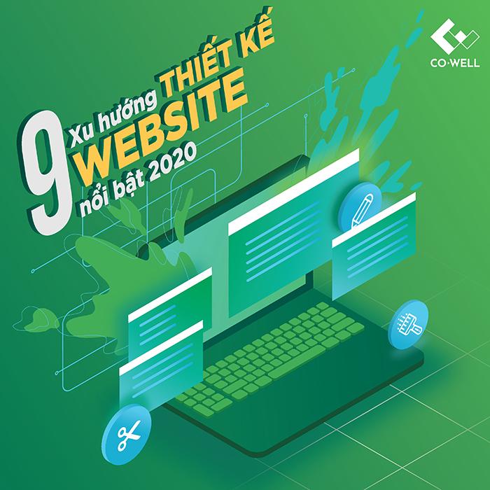 9 XU HƯỚNG THIẾT KẾ WEBSITE DẪN ĐẦU NĂM 2020