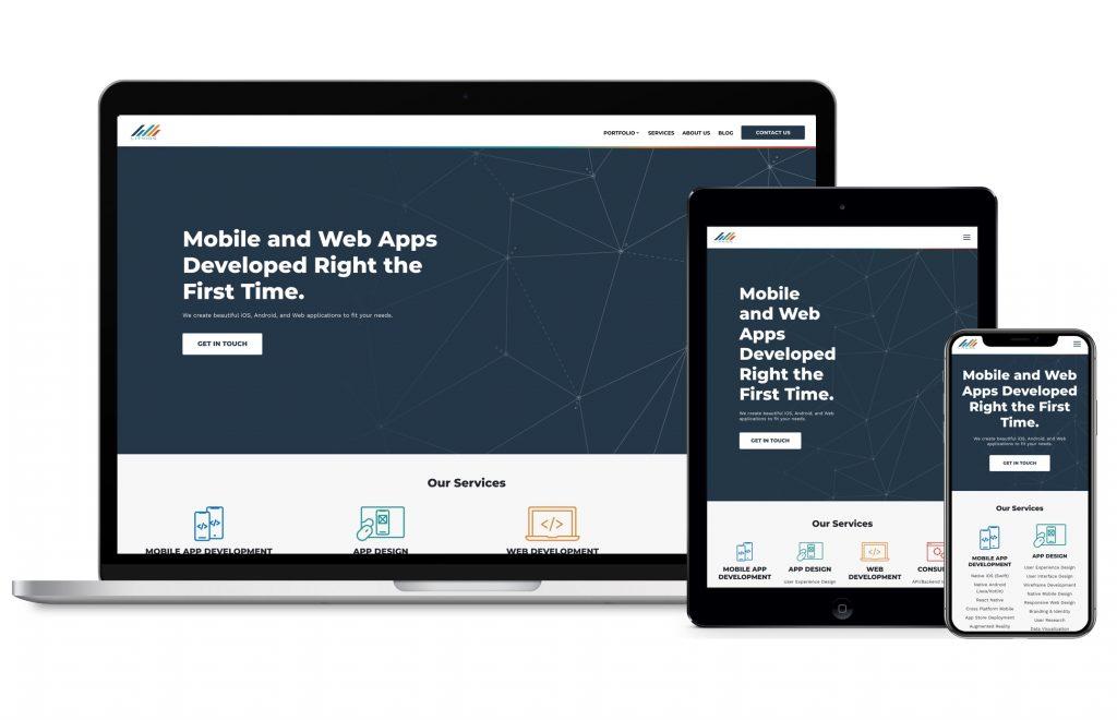 thiet ke website mobile responsive