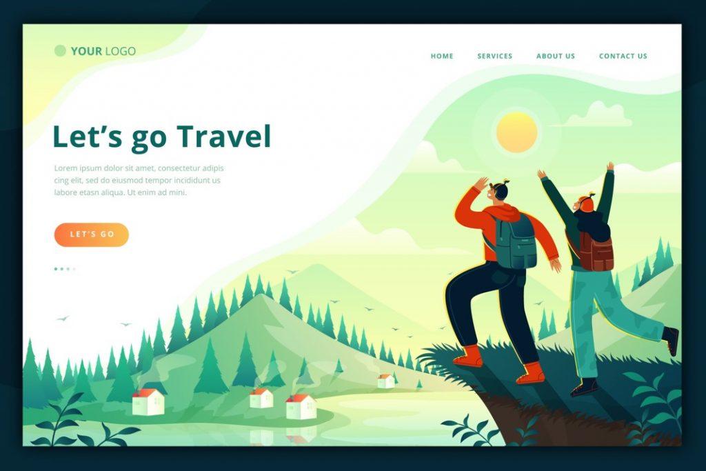 các bước tạo website du lịch