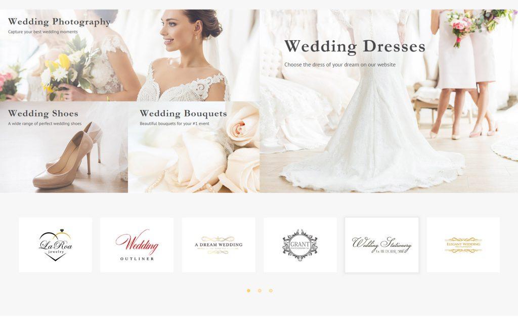 website bán hàng váy cưới