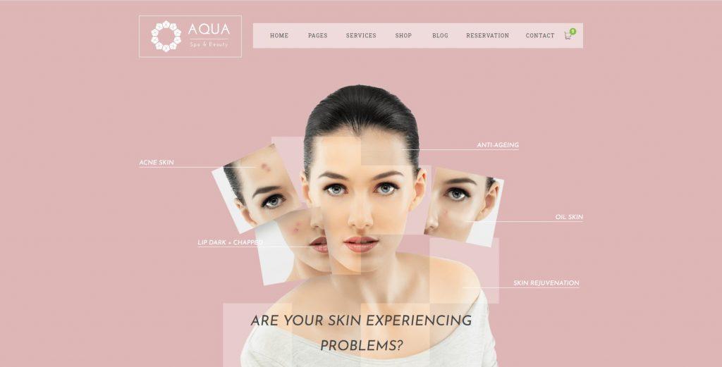 Thiet ke website spa Co well asia