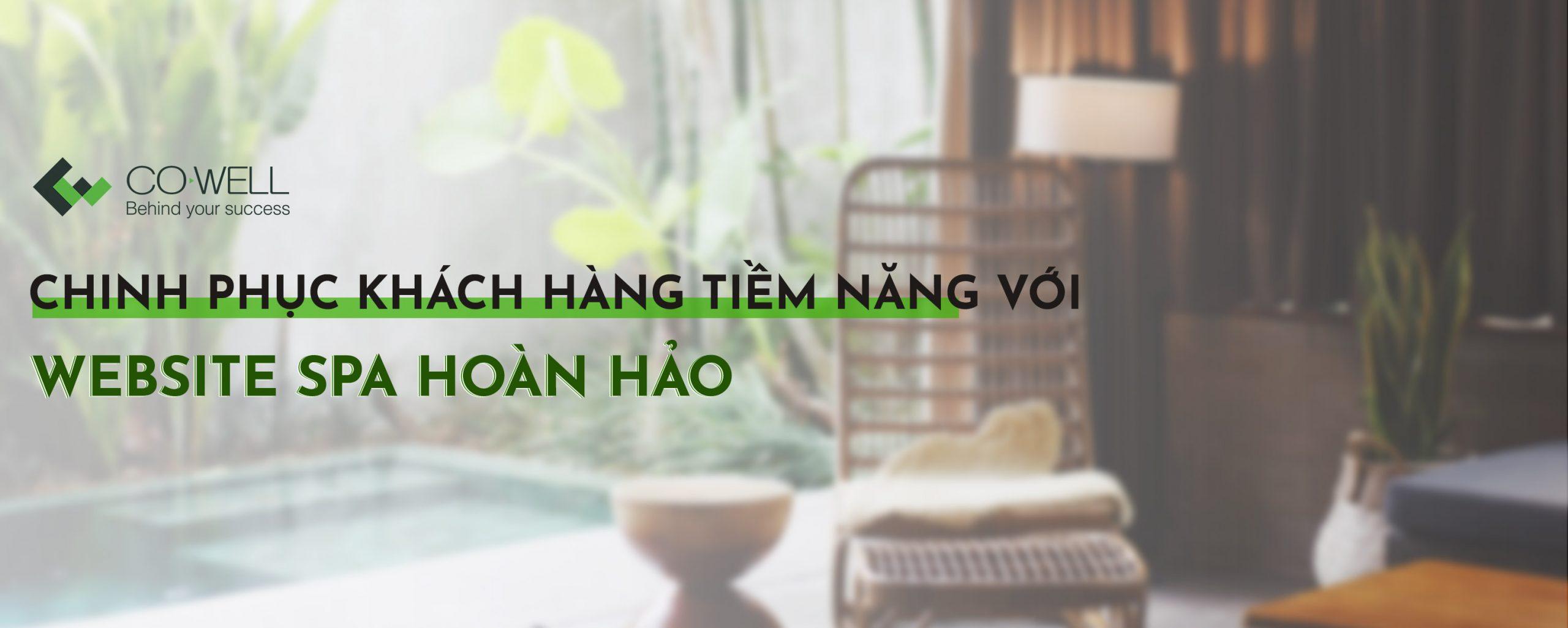 Thiet ke website spa Co well asia banner 1