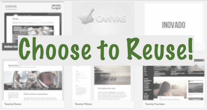 choose to reuse themes