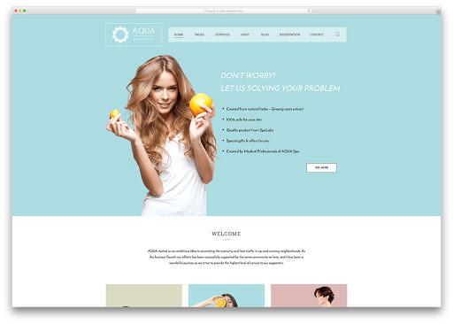 trải nghiệm khách hàng ở website spa hiển thị trang