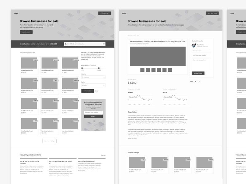 Hướng dẫn thiết kế web app Phác thảo wireframe