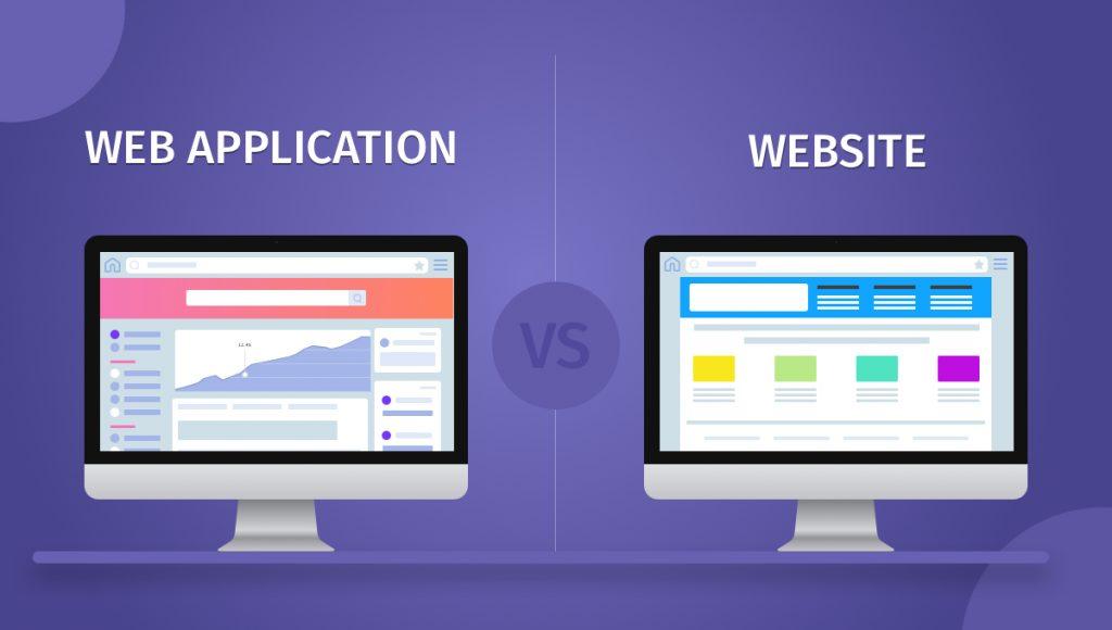 Hướng dẫn thiết kế web app Web app vs Website