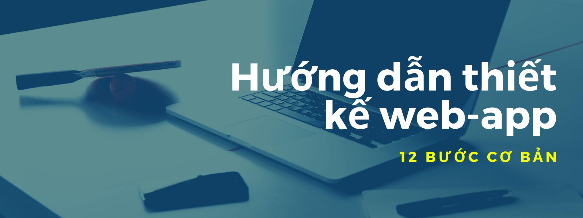 Hướng dẫn thiết kế web app