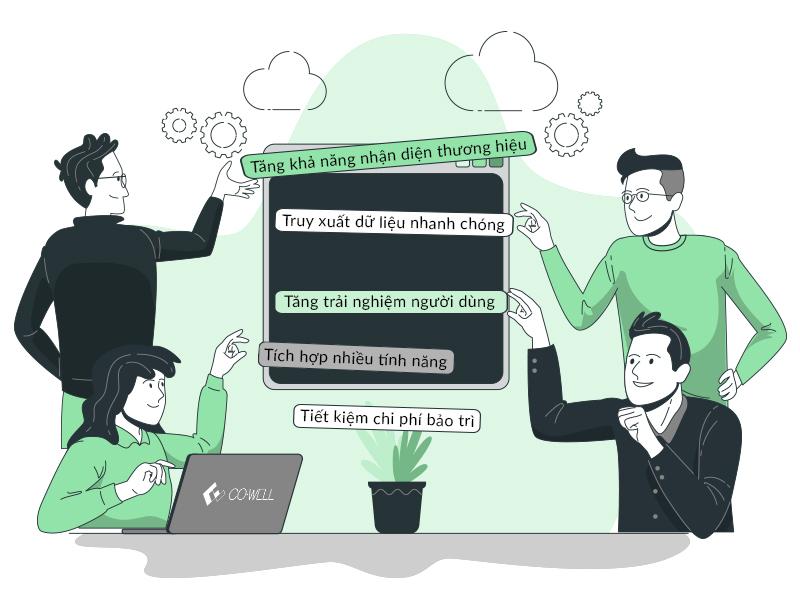 lợi ích của ứng dụng phổ biến web biến ứng dụng biến đối với doanh nghiệp