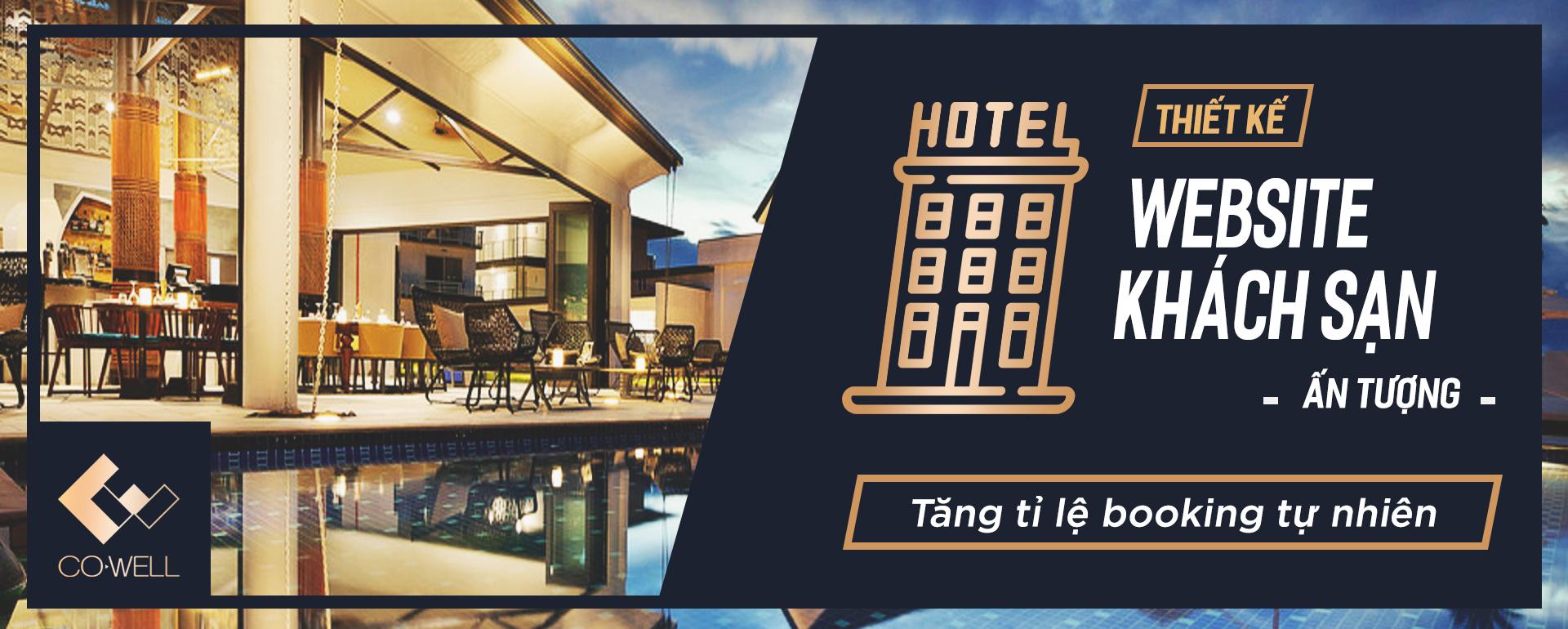 Tang ti le booking tu nhien qua thiet ke website khach san BANNER