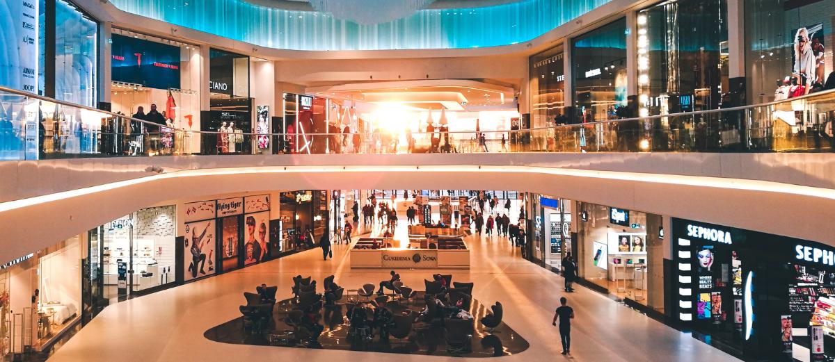 ベトナムの ショッピングモール
