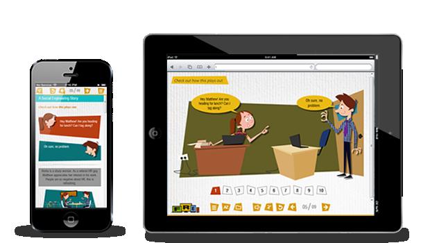 thiết kế nền tảng giáo dục trực tuyến mobile responsive