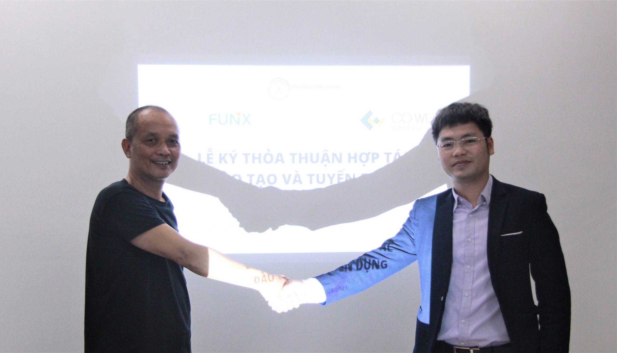 CO-WELL Asia – FUNiX ký thỏa thuận hợp tác chiến lược về đào tạo và tuyển dụng