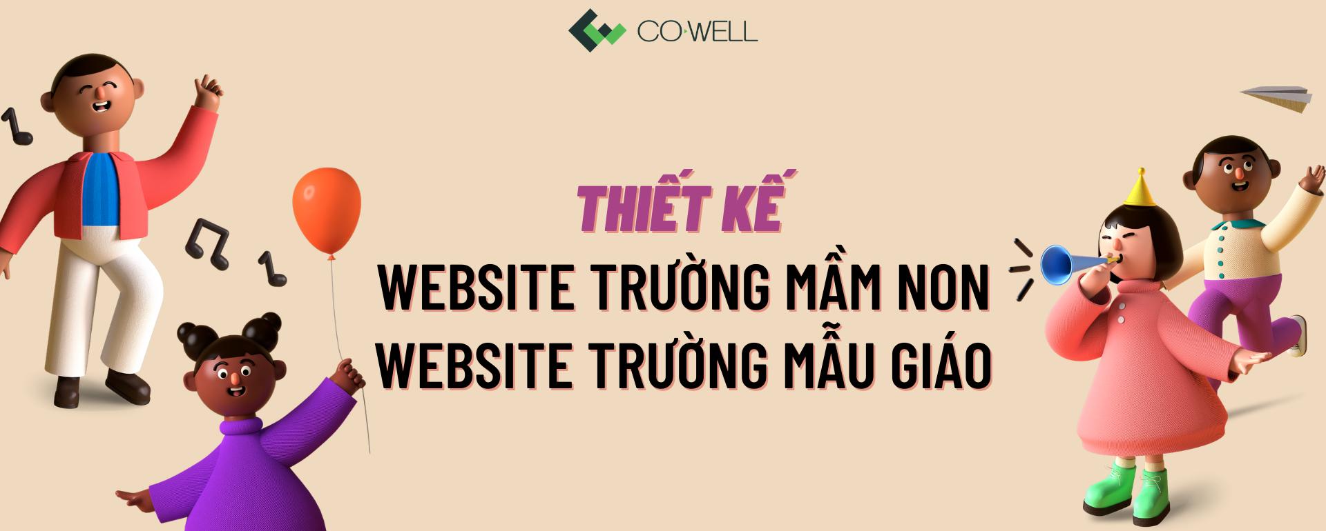 Thiet ke website truong mam non