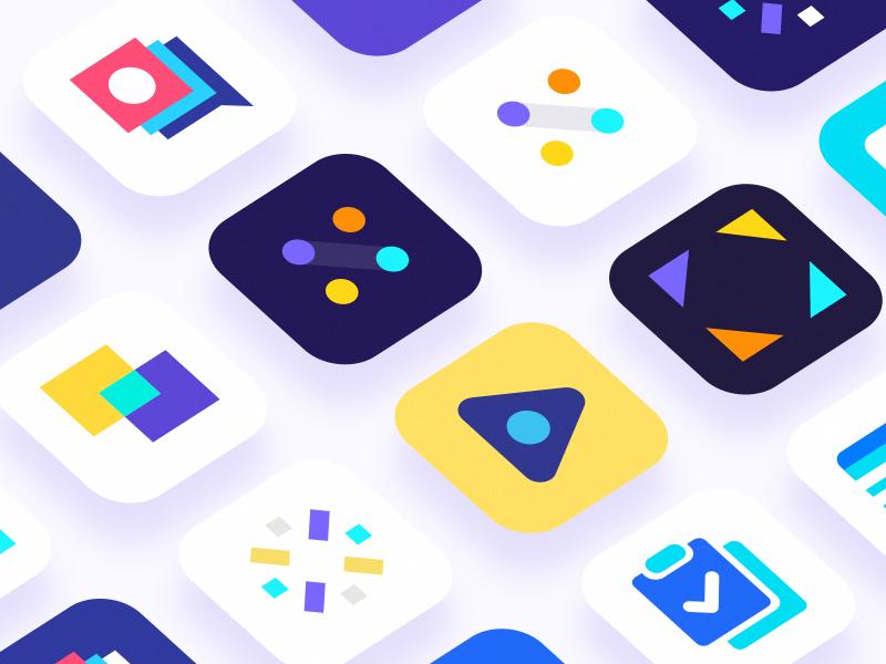 thiet ke app icon mau tuong phan