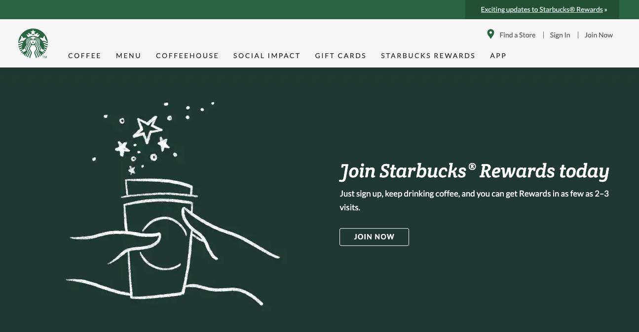 StarBucks xây dựng loyalty app