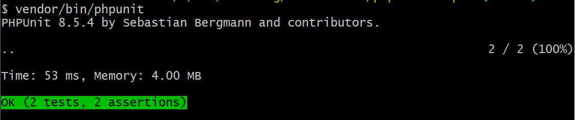 PHP unit testing 2