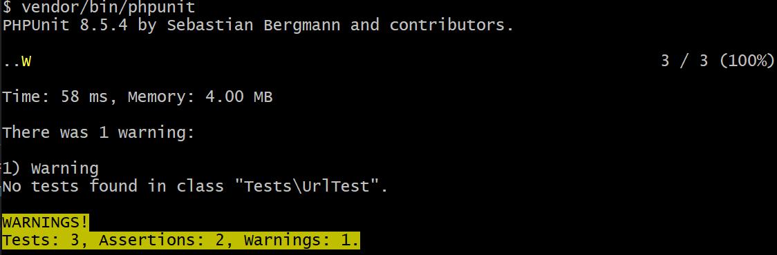 PHP unit testing 3