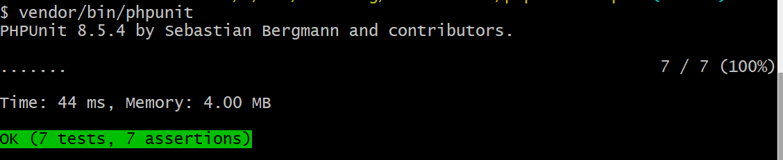 PHP unit testing 5