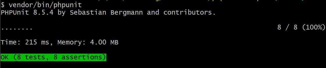 PHP unit testing 6